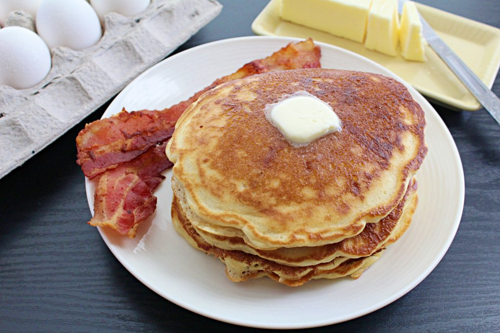 Homestyle Buttermilk Pancakes