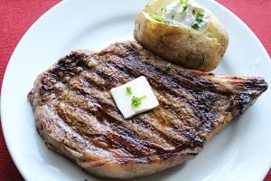 Pan Seared Ribeye Steak