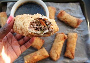 Beef Egg Rolls | Super Bowl 2019 Recipes